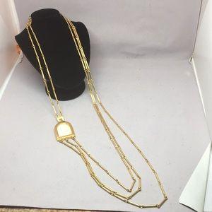 Vintage gold tone Pierre Cardin necklace.